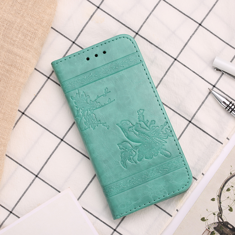 New Rare Flowers And Birds Wallet Flip Wallet Leather Phone Back Cover Case 5.5'For Google Pixel XL Case