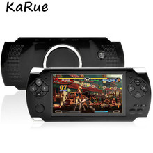 KaRue X6 Handheld Game Player 8GB 4.3inch Support GBA/NES Games MP4 Video Game Console Camera E-book Built-in