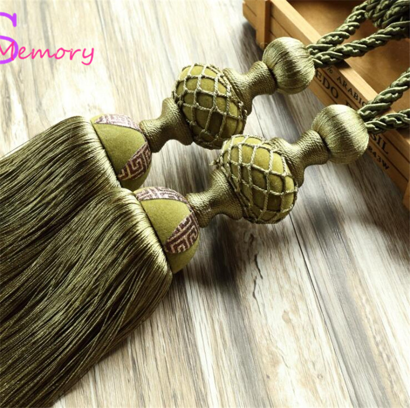 Big tennis Curtain Tassel Tieback Clips Buckle Hanging Ball Tie Back Straps Holders Accessories Home Decoration
