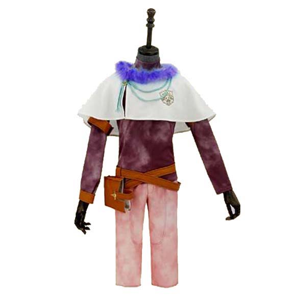 COSPlAY Japanese game Black Clover Yuno Suit Cos Clothes