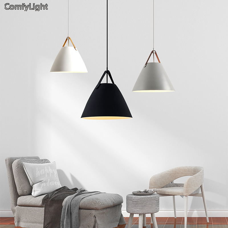 Pendant Lights Lustres Modern Hanglamp Bedroom/foyer/Kitchen/mirror light Colorful iron Lamp Shade E27 LED Bulb belt LuminairePendant Lights Lustres Modern Hanglamp Bedroom/foyer/Kitchen/mirror light Colorful iron Lamp Shade E27 LED Bulb belt Luminaire