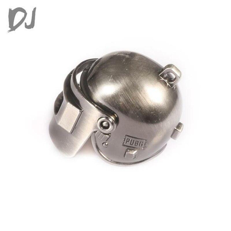 1PCS DC-DJ RC 1:10 Model All Metal PUBG 3-Level Doll Helmet Suit For Crawler Car Doll DJX-0003