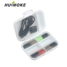Cigarette Egg Storage Box For As Like RELX JUUL E Disposable Bag PHIX Plastic Hard Case