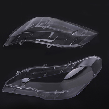 1pc Headlight Lens Lampshade Cover Replacement for BMW E70 X5 08-13 M8617