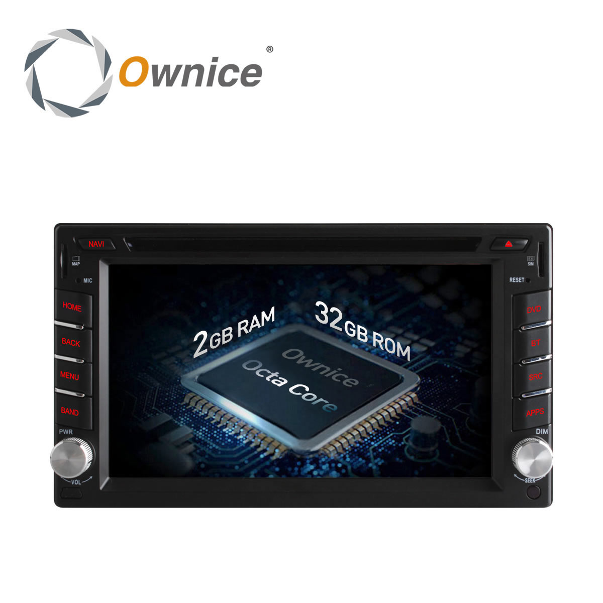 Ownice C500 Android 6 0 Octa 8 Core 2G RAM 2 din font b car b