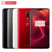 OnePlus 6 Mobile Phone 6.28 inch RAM 8GB ROM 128GB Snapdragon 845 Octa Core Android 8.1 Dual Camera NFC Waterproof Smartphone