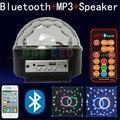 Bluetooth MP3 музыка спикер + Пульт Дистанционного управления СВЕТОДИОДНЫЙ свет этапа magic ball с USB цвет музыка главная/винный бар/дискотека