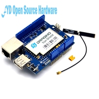 5pcs Yun Shield V1.6 Linux WiFi Ethernet USB Project for arduino