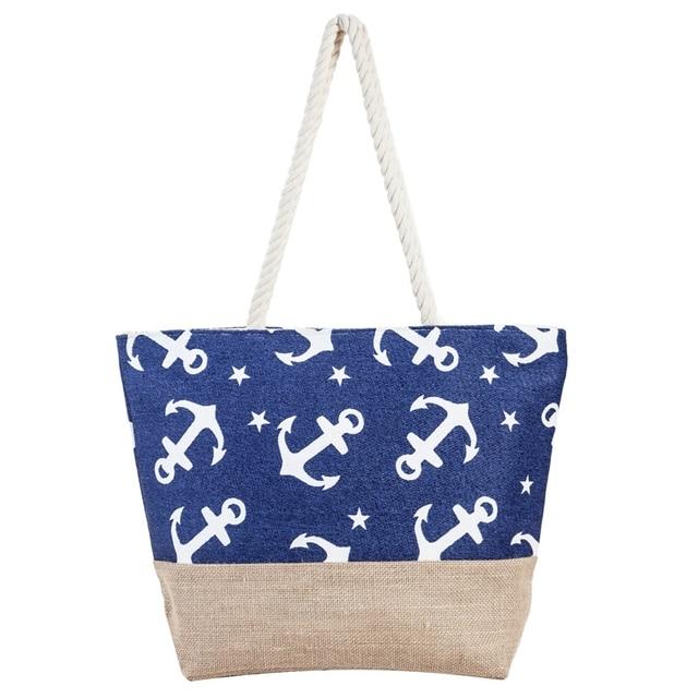 Beach Bag Straw Tote Summer