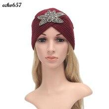 Недавно Женская Мода Hat Echo657 Горячие Продажа Повседневная Мода Женщин Зима Теплая Вязать Крючком Плетеный Крышка 8 Декабря