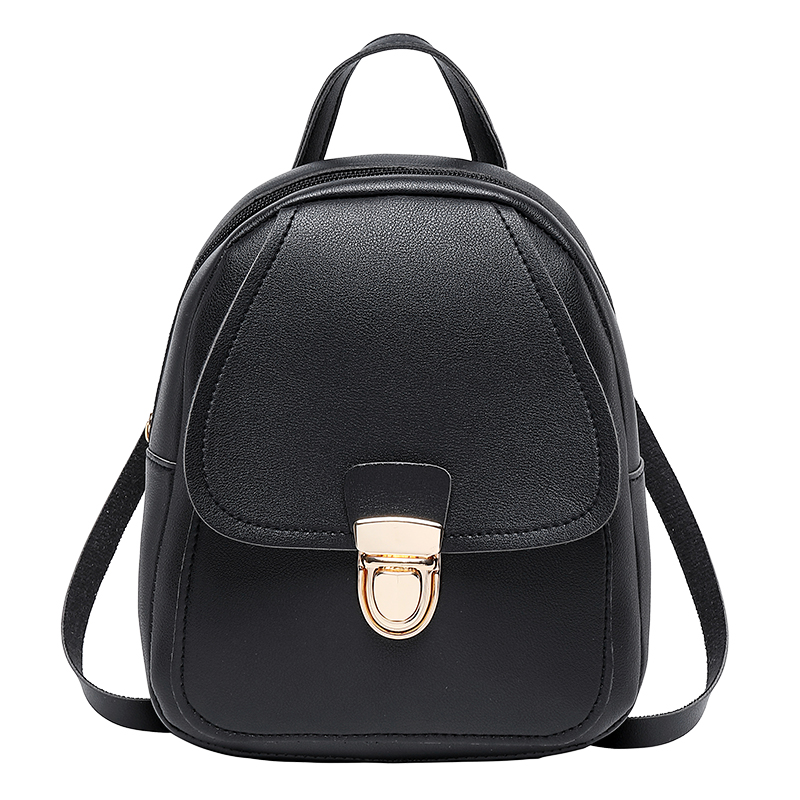 Women Ladies Cute Small Backpack Simple Shoulder Bags Crossbody Satchel Mini Slim Card Women's Backpack Girls Solid Bagpack Bags