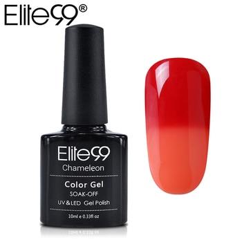 Elite99 Nagel Gel Polnisch Temperatur Ändern Nagel Farbe UV Gel Polnischen Chameleon Gradient Nagel Gel Lack 10 ml Gelpolish