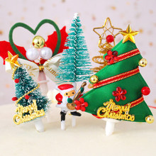 Christmas Cake Topper Santa Claus Garland Cupcake Topper Xmas Party Decoration Birthday Baby Shower Supplies 2018 New(China)