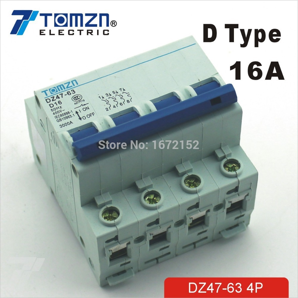 240V Overload Automatic Resettable fuse Circuit Breaker Terminal 10A 230V