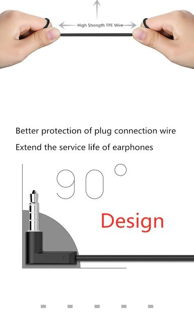 UiiSii In-ear Noise Reduction Super Bass Subwoofer Earphone Game Chicken with Microphone Metal 3.5mm for iPhone Samsung 4