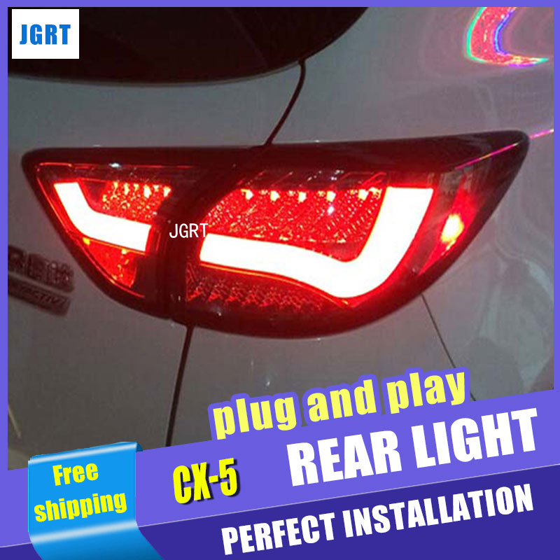 Car Styling for Mazda CX-5 Taillights Taiwan Sonar Mazda CX-5 LED Tail Light Rear Lamp DRL+Brake+Park+Signal led светильник bao workers in taiwan led