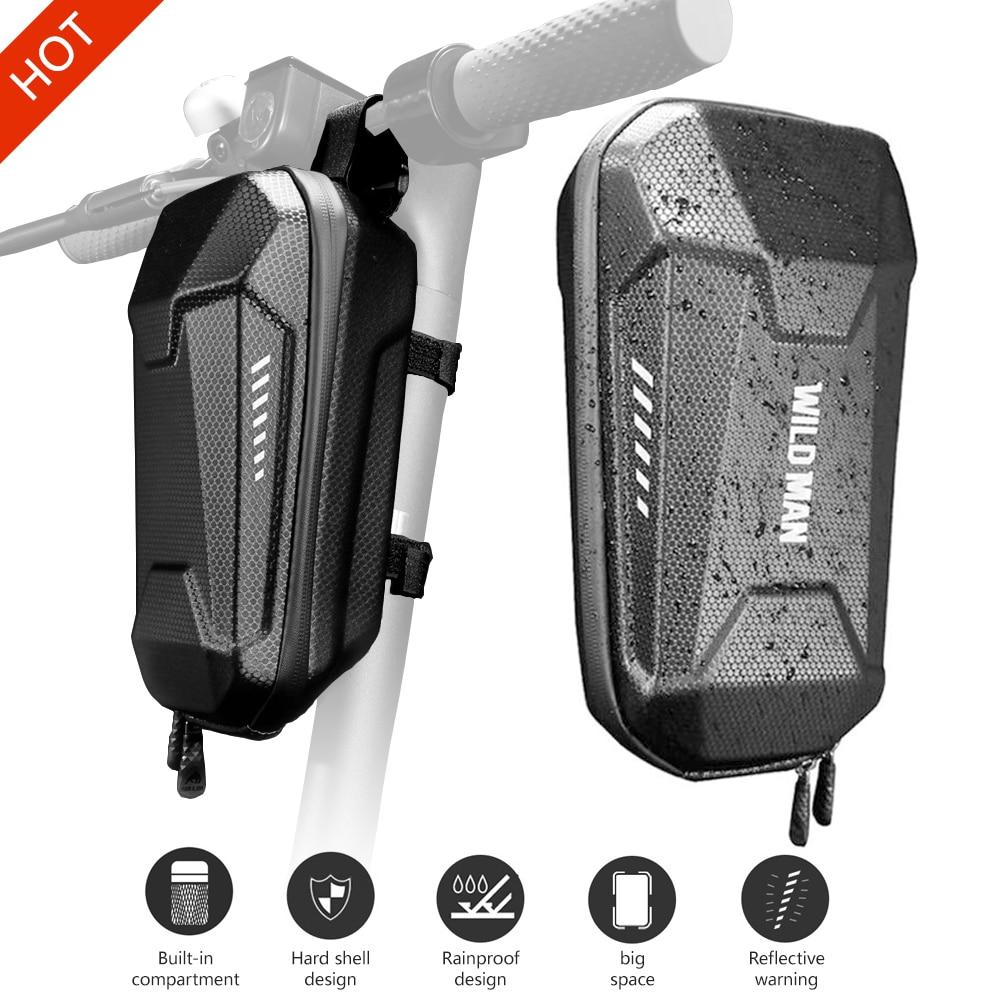 Electric Scooter Front Hanging Storage Bag Suspension Bag Durable EVA For Car Charger Tool For Xiaomi MI Mijia M365 ES ES1/ES2