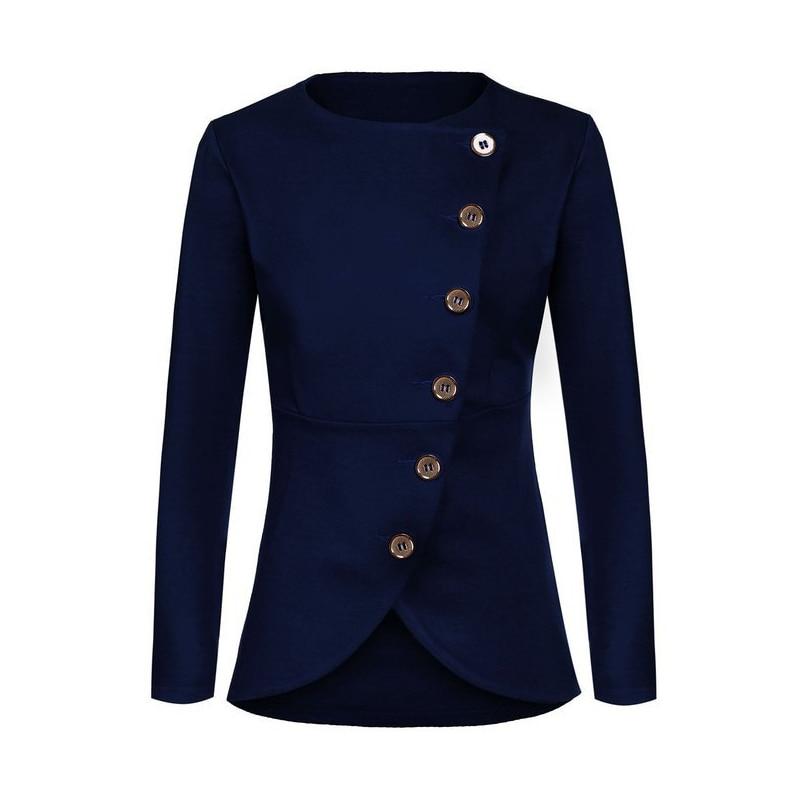 New Veste Oblique red Femmes Survêtement De Designer Blue Blazer Femme white 2019 dark Boutons Steelsir Black Vintage Mode 4dx1q4