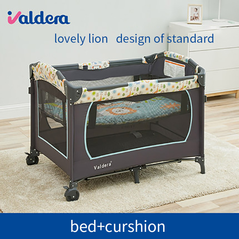 big Free Gifts! High Quality Valdera Brand Baby Bed 0~6 Years Old Use Sleeping Play Cradle Cribs Send Toys  mosquiot netbig Free Gifts! High Quality Valdera Brand Baby Bed 0~6 Years Old Use Sleeping Play Cradle Cribs Send Toys  mosquiot net