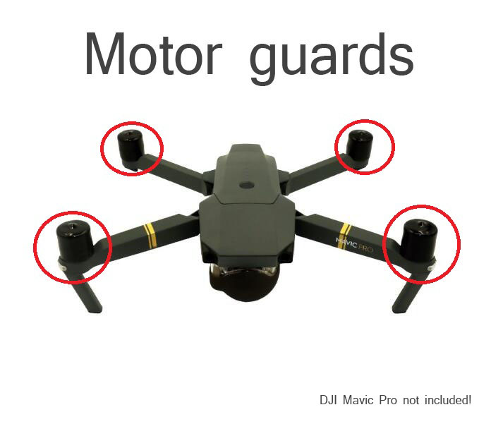 4pcs Motor guards protective cover protector spare parts for DJI Mavic Pro RC Drone FPV aircraft