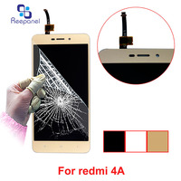 Reepanel No Dead Pixel ORIGINAL 5 0 Screen Replacement For XIAOMI Redmi 4A Display LCD Touch