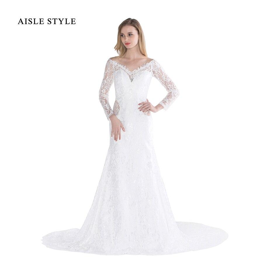 Ungewöhnlich Vintage Stil Brautkleider Mit ärmeln Ideen ...