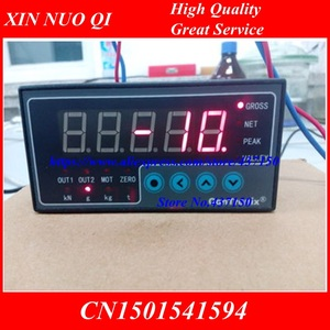 Image 2 - load cell  Indicator instrument weighing  digital display load cell display S weight sensor 2 way output 96x48x112 ; 160 x 80