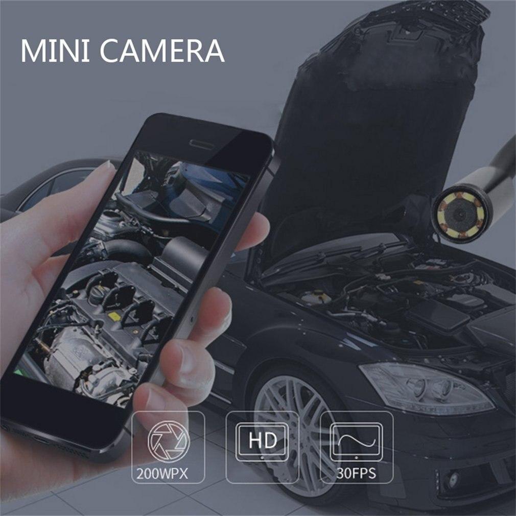 1M / 1.5M / 2M / 3.5M 7mm objektiv HD 480P USB OTG Snake Endoskop - Sikkerhed og beskyttelse - Foto 6