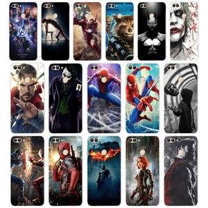 80 ZX Marvel Avengers Мягкий силиконовый чехол для Huawei Honor Mate 20 pro View 10 p smart 2018 2019, чехол для сотового телефона