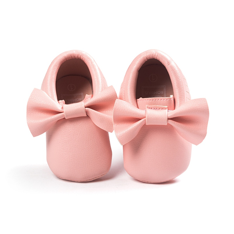 ab9f745743533 Big bow embroidery love pu leather baby girl shoes non slip soft soled  footwear for newborn crib shoes toddler girls shoes-in First Walkers from  Mother ...