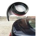 Universal 1.5m 5ft Carbon Fiber Rear Lip Splitter Chin Spoiler Wing Roof Kit Trim