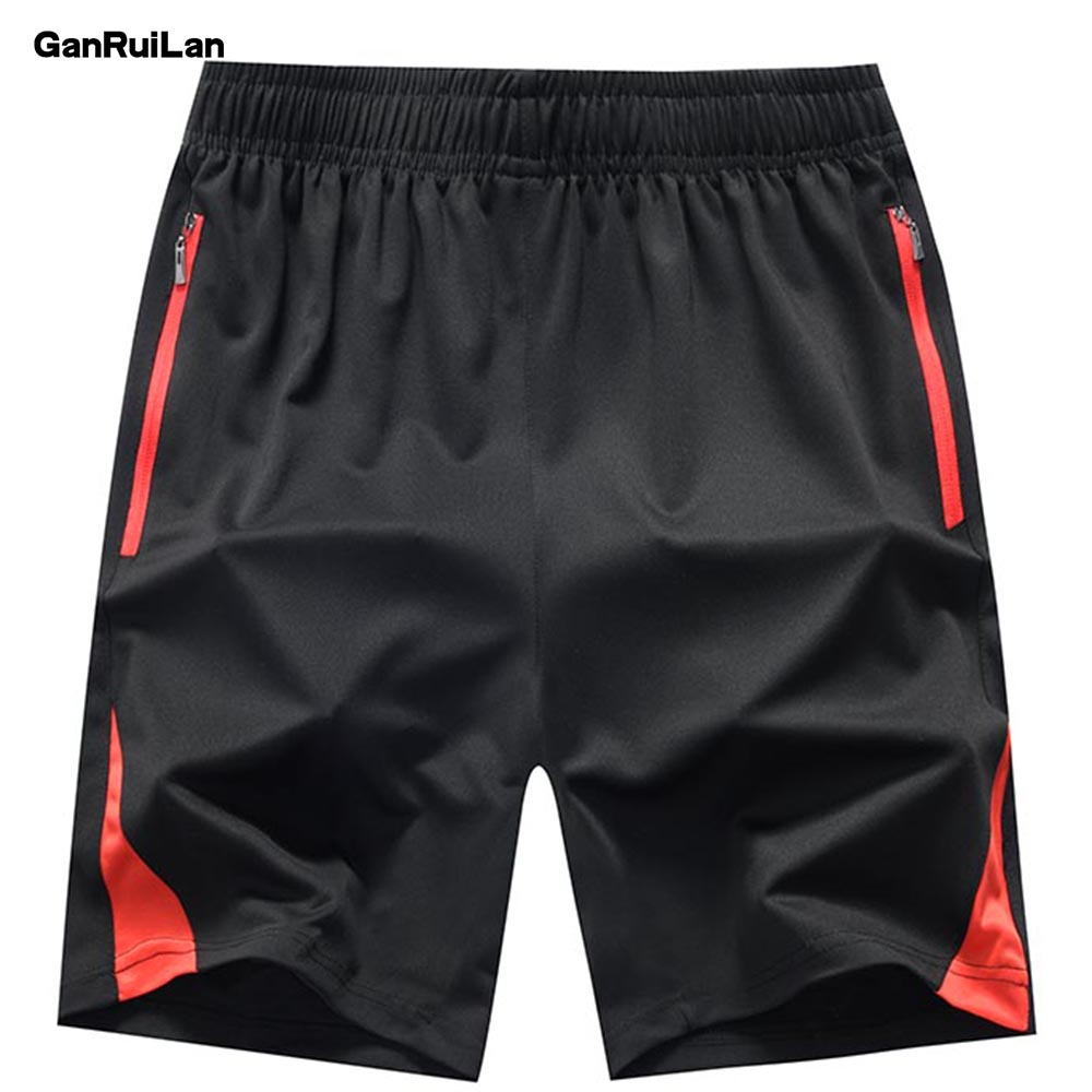 2019 Men Summer Casual Shorts Men Brand New Board Shorts WaterProof Solid Breathable Elastic Waist Fashion Casual Short Men