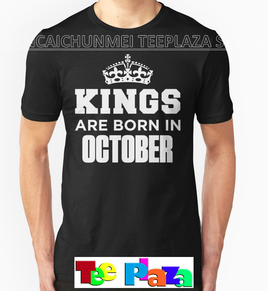 Design t shirt and sell online - 2017 Sale Real Fashion O Neck Print Teeplaza Design Your Own T Shirt Kings Are