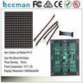 Leeman P10 RGB LED module --- outdoor CE RoHS certificate P7.62/P10/P12/P16/P20 rgb dip led display panel