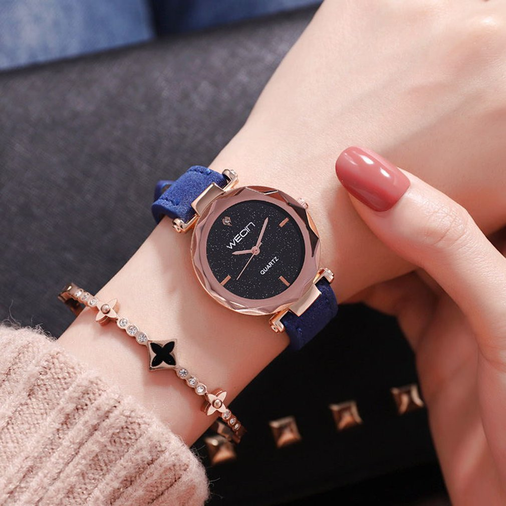 Fashion Leather womens watches top brand Wrist