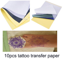 10pcs Tattoo Stencil Transfer Paper size A4 Thermal Carbon Copier Paper easy to make tattoo stencils accessories