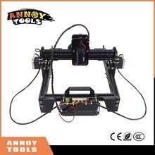 ANNOYTOOLS New 300mw-6500mw Mini DIY Laser Engraving Engraver Machine Laser Printer Marking Machine laser fasrer accurate