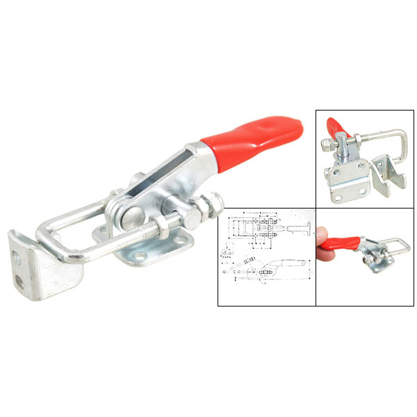 Affordable SODIAL(R) 163Kg 359 Lbs Holding Capacity Metal Latch Action Push Pull Toggle Clamp