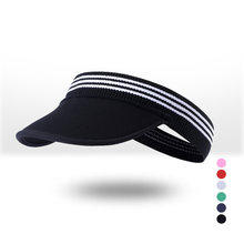 Men and women apply outdoor sports empty top hat summer cool foldable soft skull with cap no top sun hat sunscreen tennis cap(China)