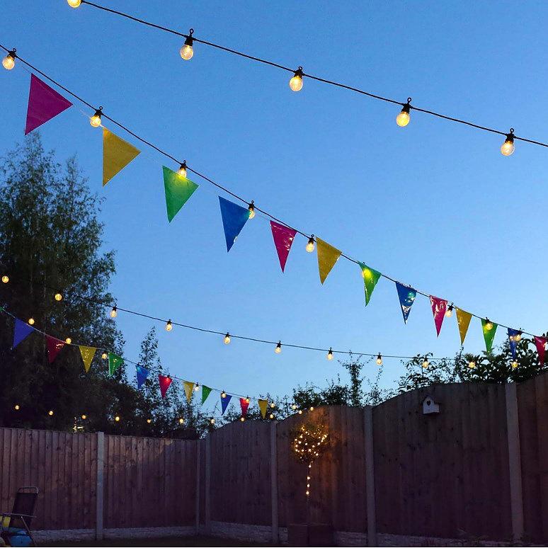 Waterdichte 15M 20 LED Lamp String Lights Aansluitbaar Plug-in voor - Vakantie verlichting - Foto 2