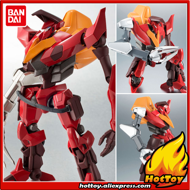 Original BANDAI Tamashii Nations Robot Spirits No.225 Action Figure - Guren Type-02 (Kouichi Model Arm Equipped)