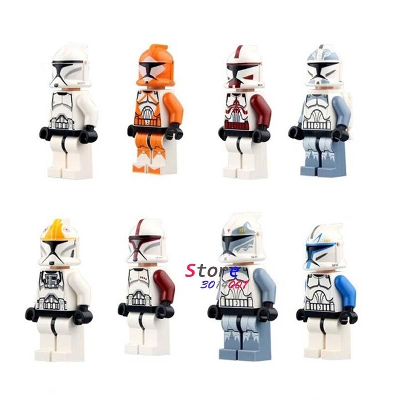 Toys & Hobbies Single Star Wars First Order Stormtrooper Rebel Clone Trooper Army Clonetrooper Robot Figure Building Block Toys For Children