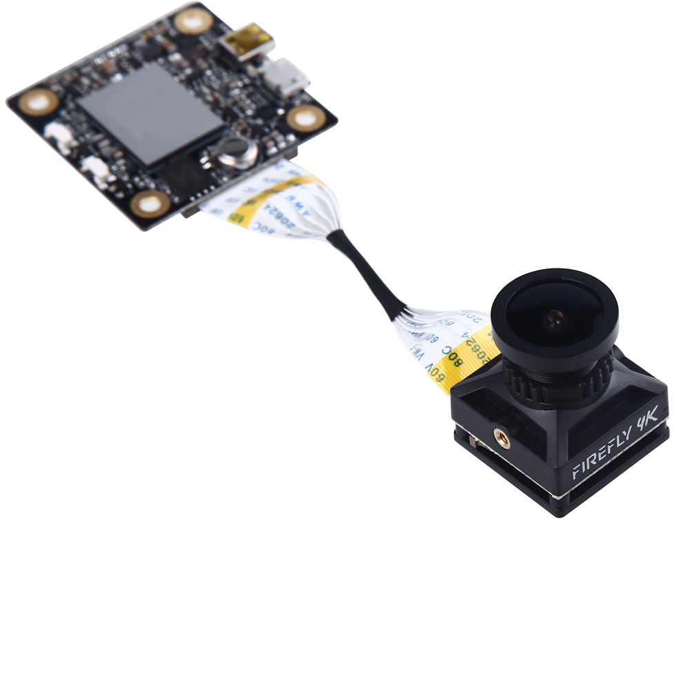 Hawkeye Firefly Сплит 4K 160 градусов HD Запись DVR Мини FPV камера WDR одноплатная Встроенная камера с микрофоном для радиоуправляемого дрона