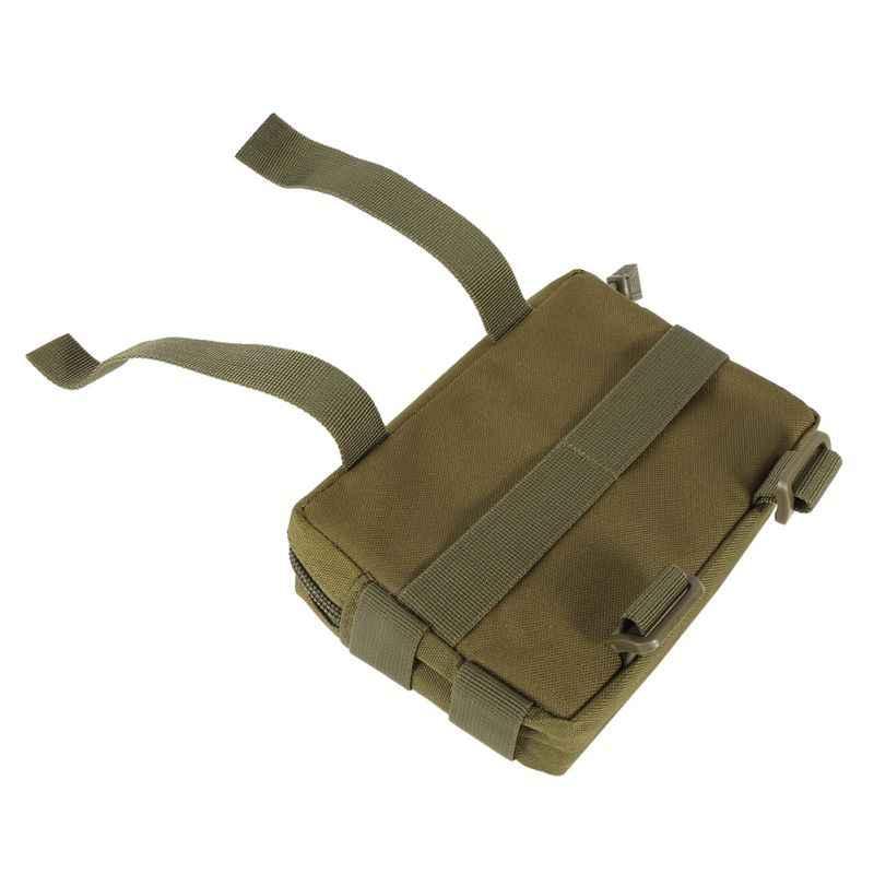 الادسنس التكتيكية 600D رخوة فائدة EDC/التبعي قطرة النايلون للماء مجلة الحقيبة ل البسيطة الحقائب في الهواء الطلق والعتاد أدوات الحقيبة