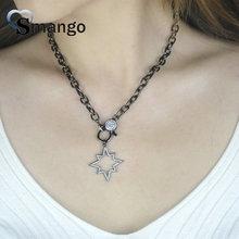 цены на Pop Charms,Fashion Jewelry ,The Star Shape Cubic Zirconia Pendant Necklace, Necklace Women,5Pieces в интернет-магазинах