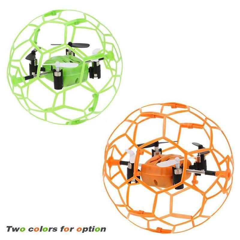MINI RC Drone 2 4G 4CH 6 Axis Gyro rc drone RTF fly ball smart remote