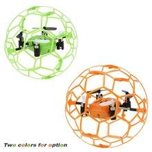 МИНИ RC Drone 2.4 Г 4CH 6 Оси Гироскопа rc drone RTF fly мяч умный пульт дистанционного управления вертолетом небьющиеся карман самолет pocke toys