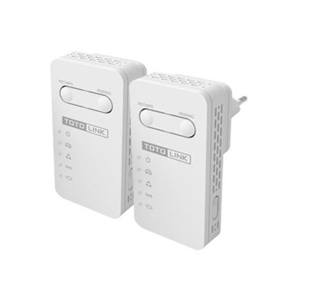 PLW350 KIT 150Mbps AV200 Wi Fi Powerline Extender KIT English Version in twin package