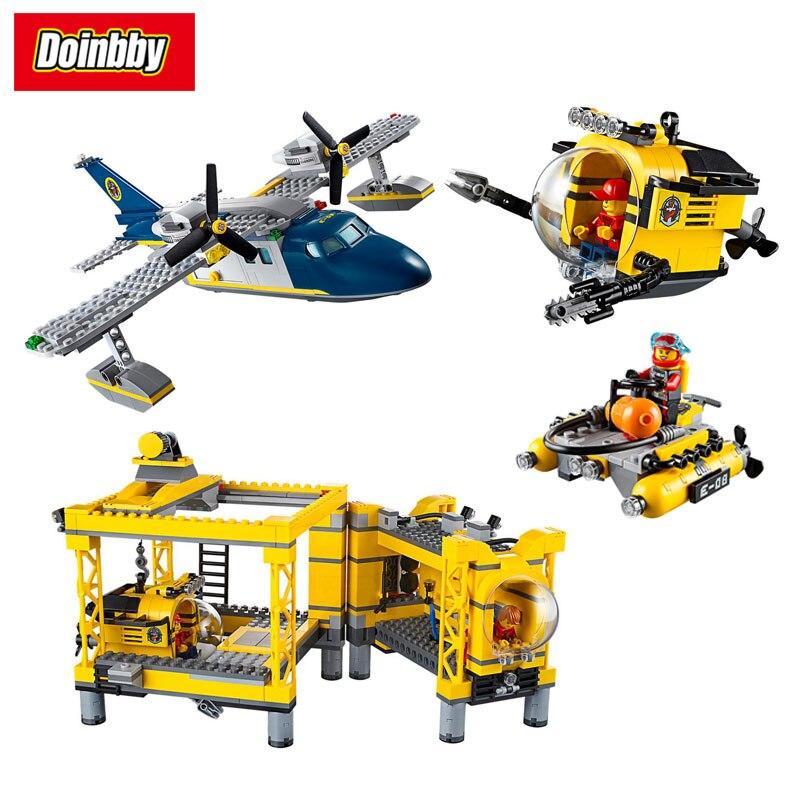 Lepin 02088 1016Pcs City Deep-Sea Explorers Deep Sea Operation Base Building Block Bricks Toys Kids Gifts Compatible 60096 sea юбка sea sears16108
