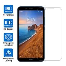 Xiaomi Redmi 7a 화면 보호기 용 강화 유리 Xiaomi Mi 8 A2 Lite A1 9 Redmi 6a 6 참고 7 Go Film